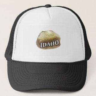 Boné Etiqueta da batata de Idaho