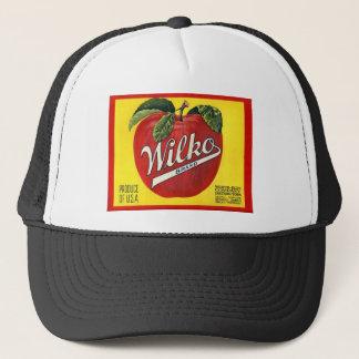 Boné Etiqueta do vintage das maçãs da marca de Wilko