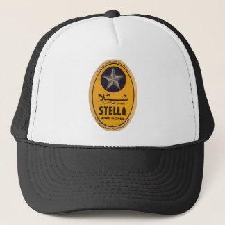 Boné Etiqueta loura da cerveja de Stella Biere