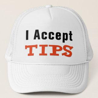 Boné Eu aceito o chapéu das pontas