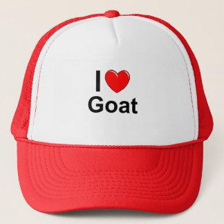 Boné Eu amo a cabra do coração