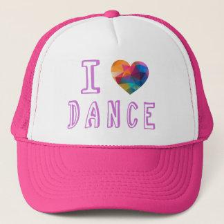 Boné Eu amo a dança