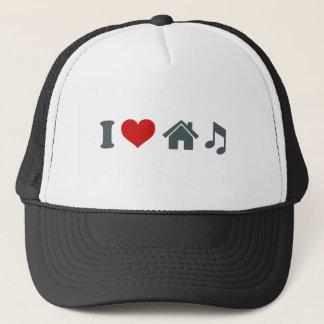Boné Eu amo a dança do chapéu de basebol | da música da