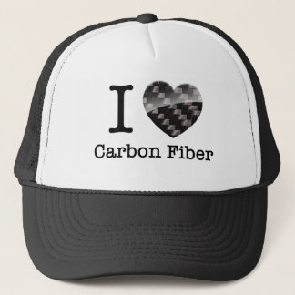 Boné Eu amo a fibra do carbono