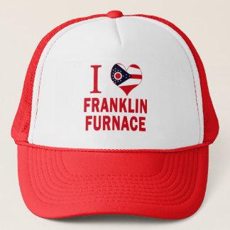 Boné Eu amo a fornalha de Franklin, Ohio