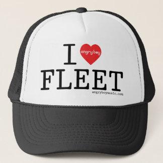 Boné Eu amo a frota