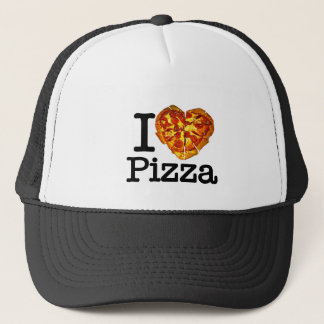 Boné Eu amo a pizza