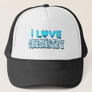 Boné Eu amo a química