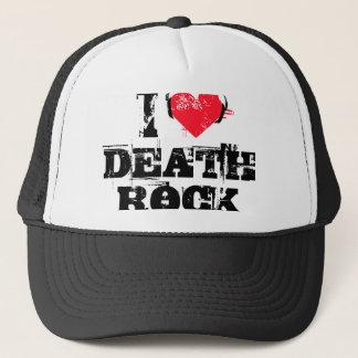 Boné Eu amo a rocha da morte