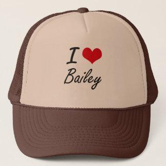Boné Eu amo Bailey