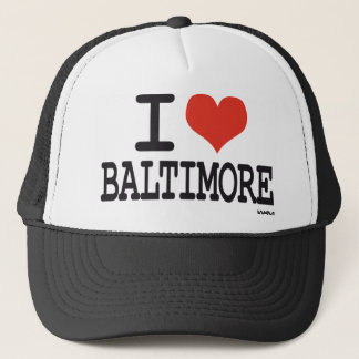 Boné Eu amo Baltimore