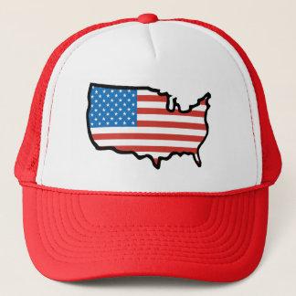 Boné Eu amo bandeira de América - os Estados Unidos
