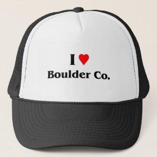 Boné Eu amo Boulder Colorado