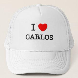 Boné Eu amo Carlos