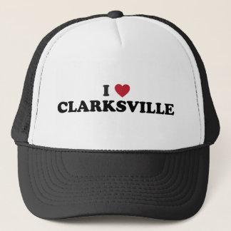 Boné Eu amo Clarksville Illinois