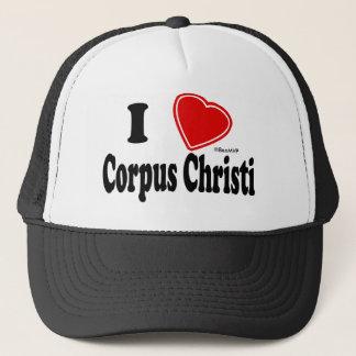 Boné Eu amo Corpus Christi