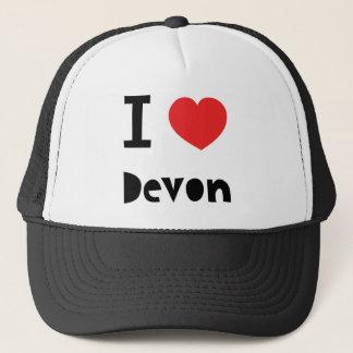 Boné Eu amo Devon
