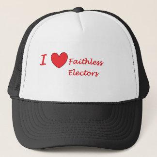 Boné Eu amo eleitores faithless