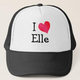 Boné Eu amo Elle