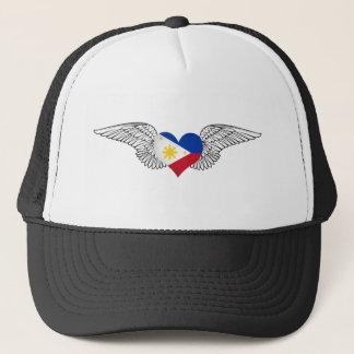 Boné Eu amo Filipinas - asas