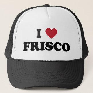 Boné Eu amo Frisco Texas