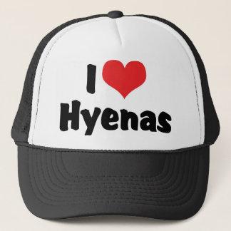 Boné Eu amo hienas do coração