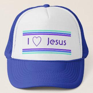 Boné Eu amo Jesus