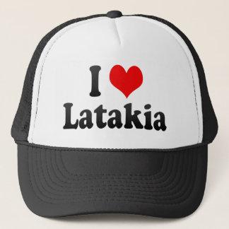 Boné Eu amo Latakia, república árabe síria