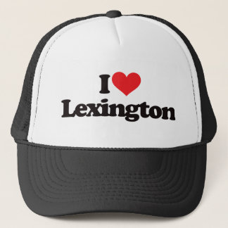 Boné Eu amo Lexington