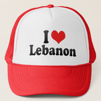 Boné Eu amo Líbano