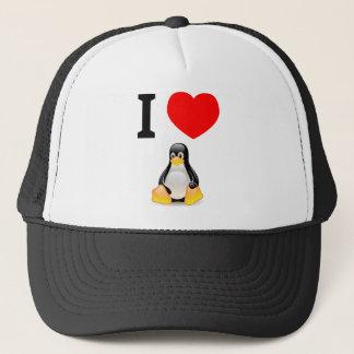 Boné Eu amo Linux