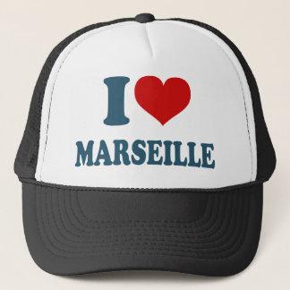 Boné Eu amo Marselha