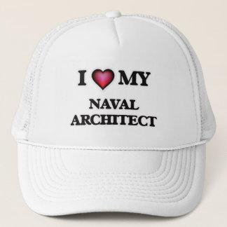 Boné Eu amo meu arquiteto naval