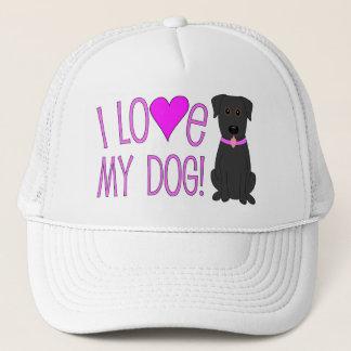 Boné Eu amo meu cão!