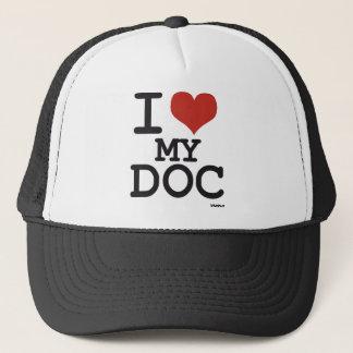 Boné Eu amo meu Doc - doutor