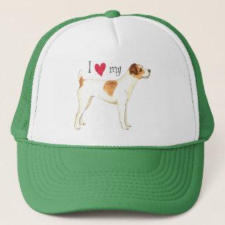 Boné Eu amo meu Jack Russell Terrier