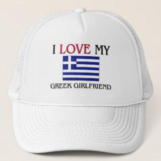 Boné Eu amo meu namorada grego