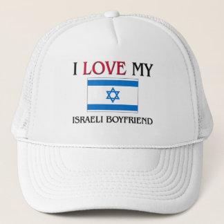 Boné Eu amo meu namorado israelita