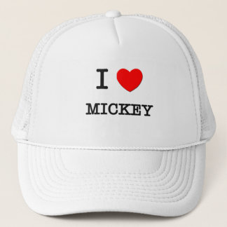Boné Eu amo Mickey