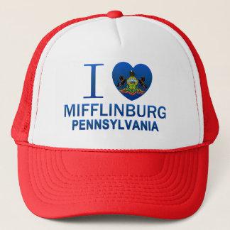 Boné Eu amo Mifflinburg, PA