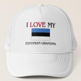 Boné Eu amo minha avó estónia