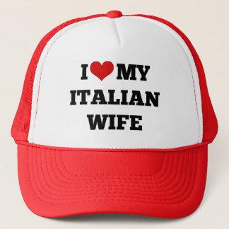 Boné Eu amo minha esposa italiana