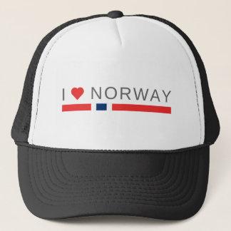 Boné Eu amo Noruega
