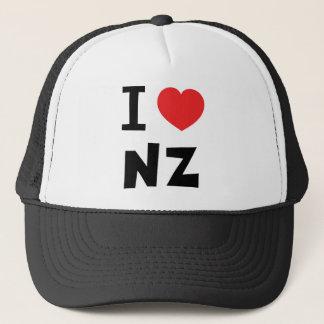 Boné Eu amo Nova Zelândia