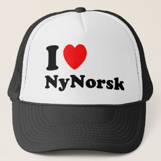 Boné Eu amo Nynorsk