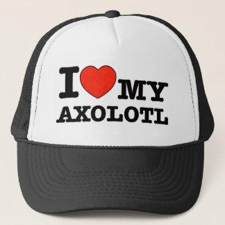 Boné Eu amo o axolotl