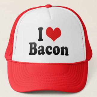 Boné Eu amo o bacon