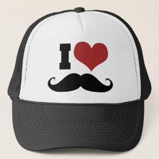 Boné Eu amo o bigode