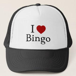 Boné Eu amo o Bingo