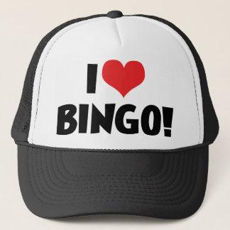 Boné Eu amo o Bingo do coração! - Amantes do Bingo